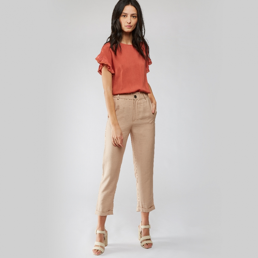 Pantalon Bolivie beige