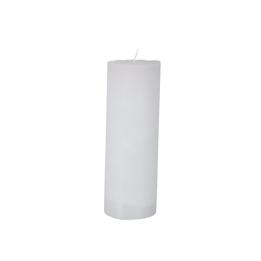 Bougie large blanche 20 cm